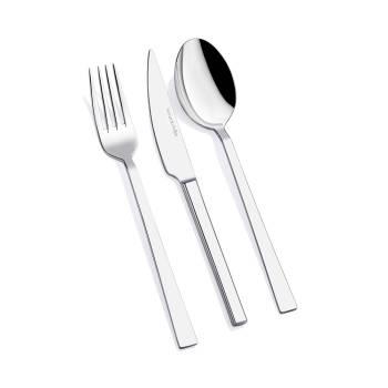 Bernardo - 6 Kişilik 18 Parça Yemek Çatal Kaşık Bıçak Takımı