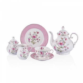 - Bernardo 23 Parça Çay Seti Çiçekli