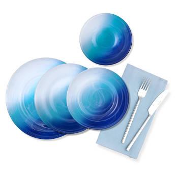 - Bernardo 24 Parça Yemek Takımı Mavi Alab