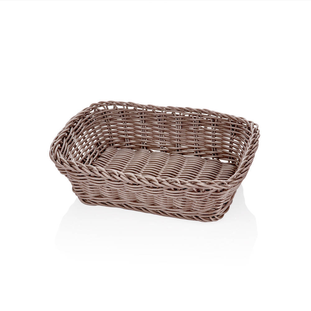 Bernardo Oval Ekmek Sepeti-Açık Kahve