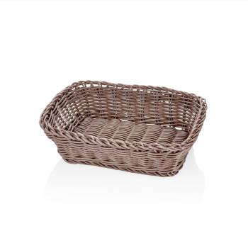- Bernardo Oval Ekmek Sepeti-Açık Kahve