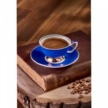 - 2'li Kahve Fincan Seti Lacivert