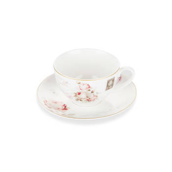 - Bernardo 6 lı Kahve Seti - Vintage Rose