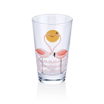 - Bernardo 6'lı Meşrubat Bardağı-Flamingo