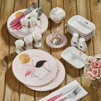 - Bernardo Flamingo 21 Parça Kahvaltı Takımı