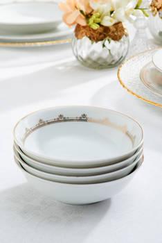 Golden Heritage 12 Kişilik 57 Parça Porselen Yemek Takımı - Thumbnail