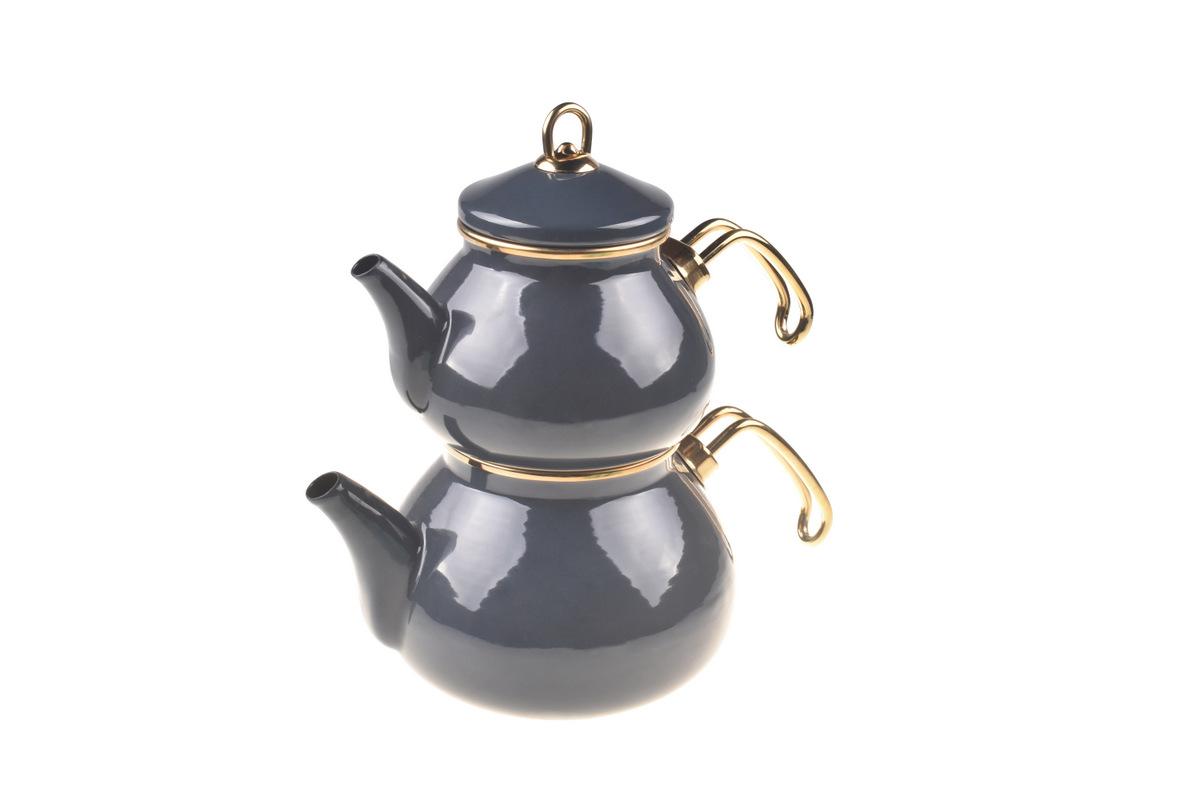 Beyzade Çaydanlık Takımı - Gri Bambum