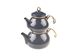 - Beyzade Çaydanlık Takımı - Gri Bambum
