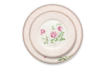 Bloom Meadow 12 Kişilik 84 Parça Bone China Yemek Takımı - Thumbnail