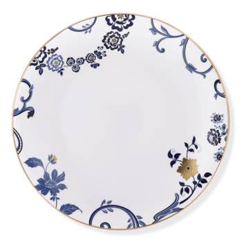 Blue Holly 12 Kişilik 70 Parça Royal Bone China Yemek Takımı - Thumbnail