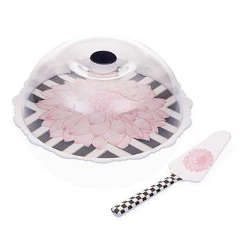 - Blume Spatulalı Kek Fanusu - Pembe
