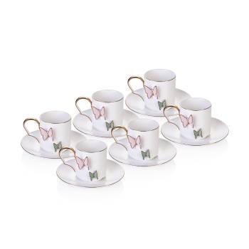 - Butterfly 6'lı Çay Fincanı