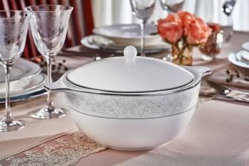 Carolyn 12 Kişilik 70 Parça Royal Bone China Yemek Takımı - Thumbnail