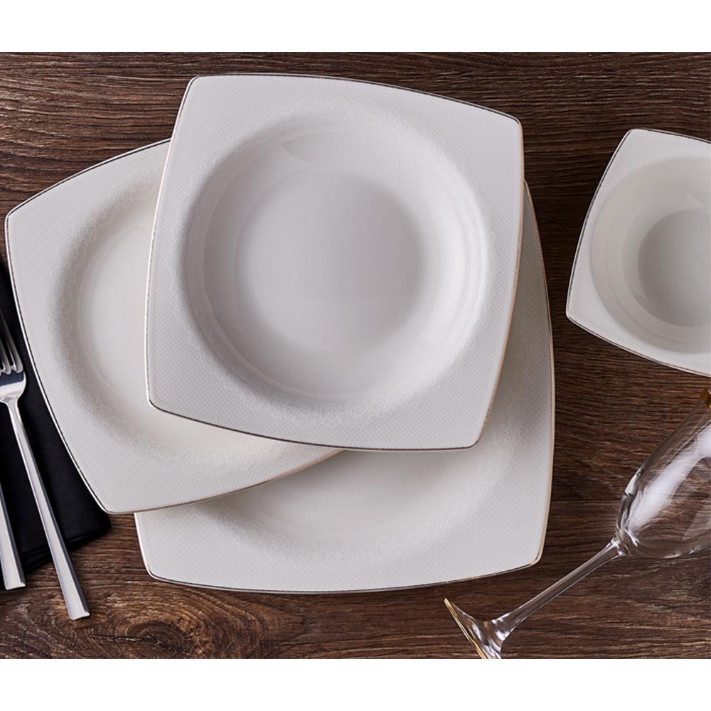 Ceria 12 Kişilik 53 Parça Bone China Yemek Takımı