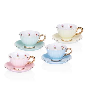 Daimon 4 Kişilik Porselen Kahve Fincanı Seti - Thumbnail