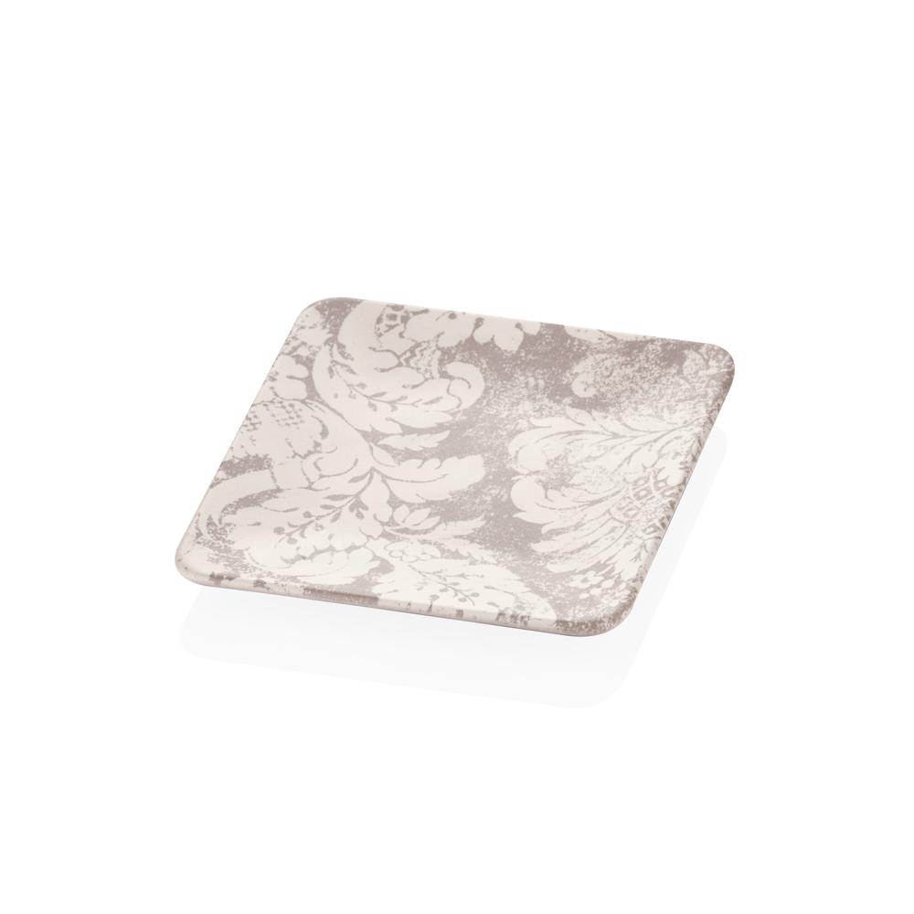 Damask Desenli Stoneware Pasta Tabağı - 20 cm