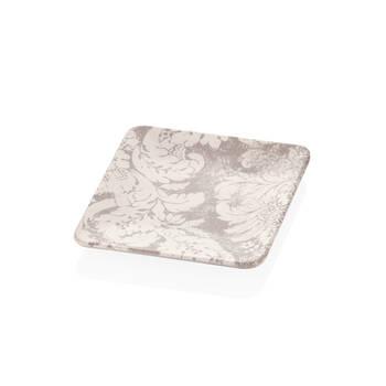 Bernardo - Damask Desenli Stoneware Pasta Tabağı - 20 cm