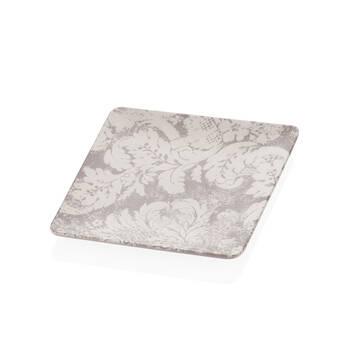 Bernardo - Damask Desenli Stoneware Servis Tabağı - 25 cm