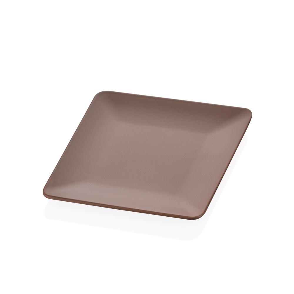 Damask Vizon Stoneware Servis Tabağı - 25 cm