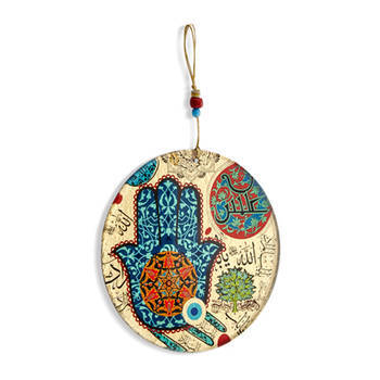 Biev - Dekoratif Cam Duvar Süsü - 15 cm