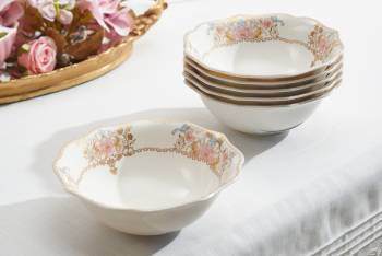 Diana 12 Kişilik 70 Parça Royal Bone China Yemek Takımı - Thumbnail
