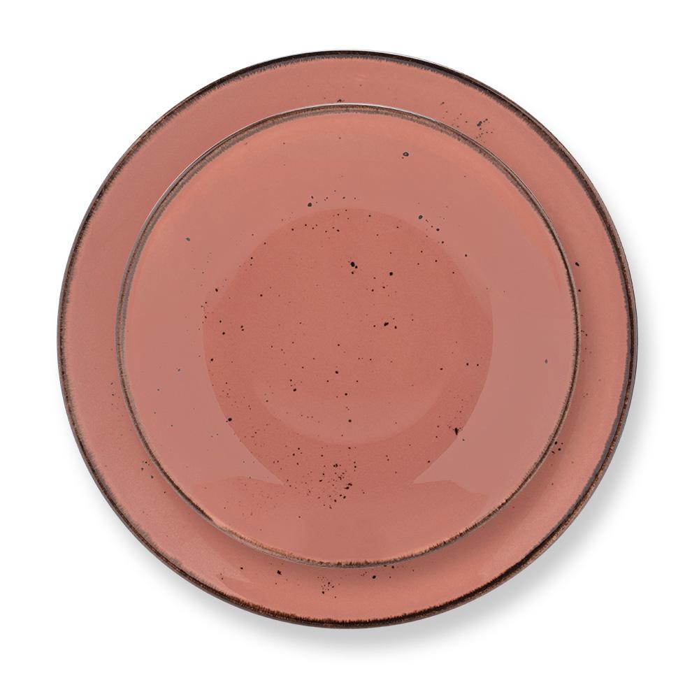 Dione 24 Parça Yemek Takımı - Somon