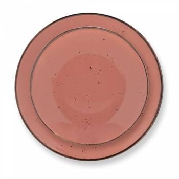 Dione 24 Parça Yemek Takımı - Somon - Thumbnail