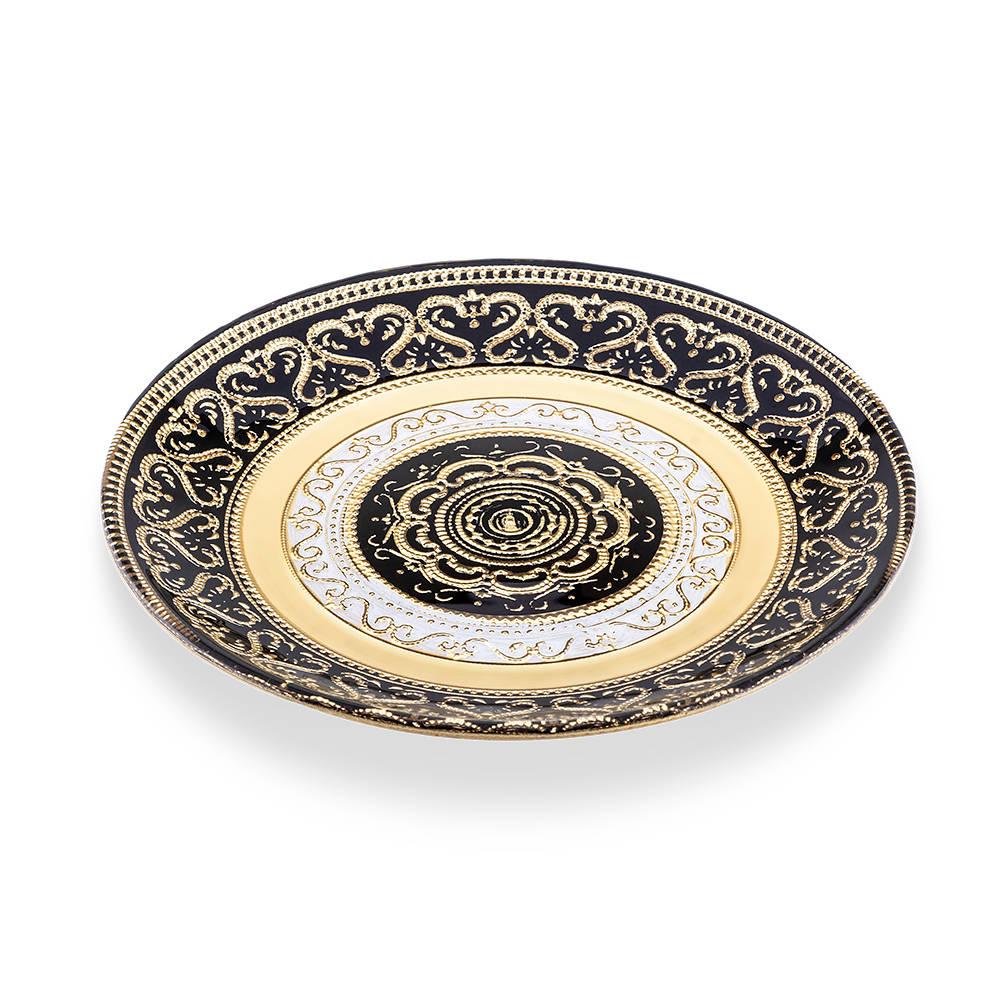 Doha Cam Oval Servis Tabağı - 16 cm
