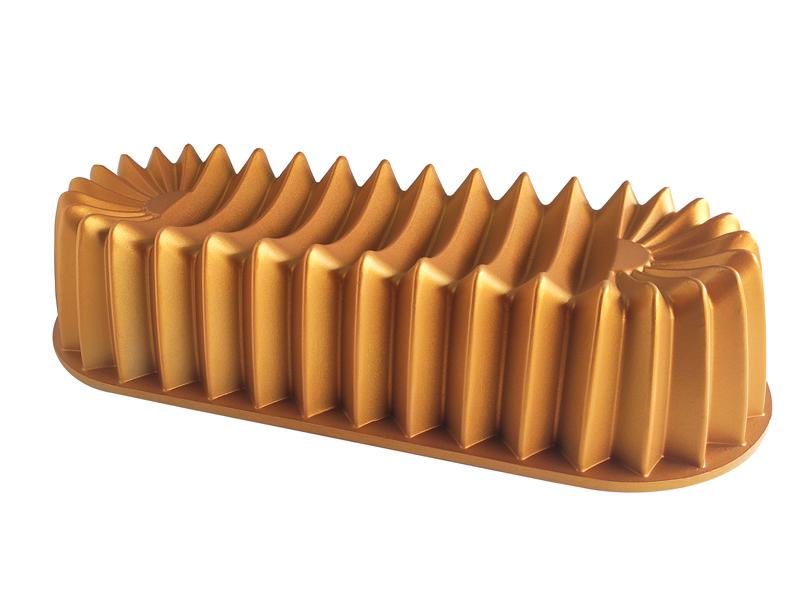 Döküm Baton Kek Kalıbı -Gold