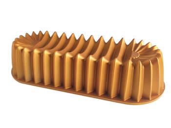 - Döküm Baton Kek Kalıbı -Gold