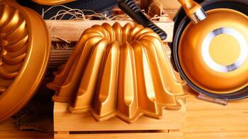 - Dolce Kek Kalıbı - Leylak Gold Bambum