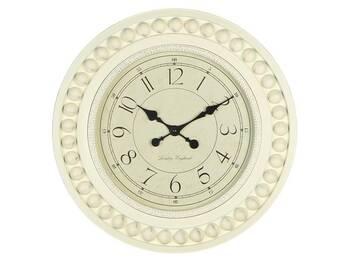 MonDecor - Düğmeli Duvar Saati - 52x6 cm