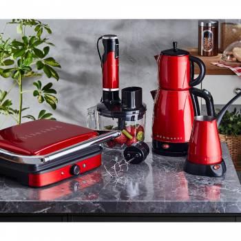 Elektrikli Mutfak Seti -Kırmızı - Thumbnail