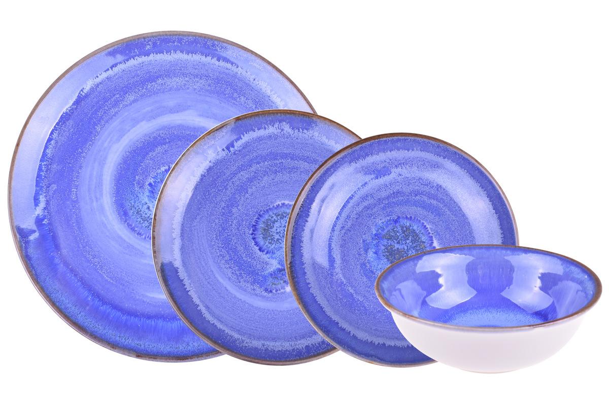 Emily - 24 Parça Porselen Yemek Takımı