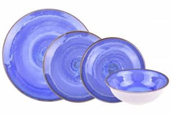 - Emily - 24 Parça Porselen Yemek Takımı