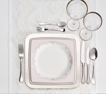 Emily Pink 70 Parça Yemek Takımı - Thumbnail