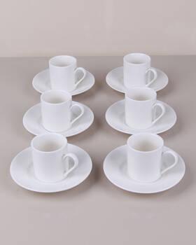 SEFA - Kahve Fincanı Sade 12 Parça Pure