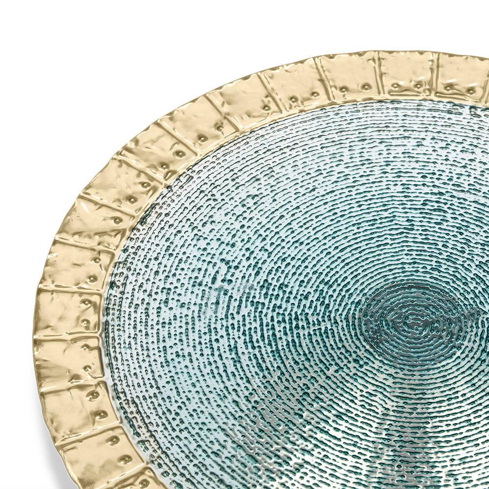 Esperanza Ayaklı Cam Tabak - 22 cm