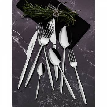 Feronia 84 Parça Çatal Kaşık Bıçak Takım - Thumbnail
