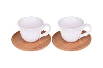 - Flo 2 Kişilik Kahve Fincan Takımı Bambum