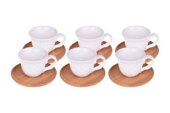 - Flo 6 Kişilik Kahve Fincan Takımı Bambum