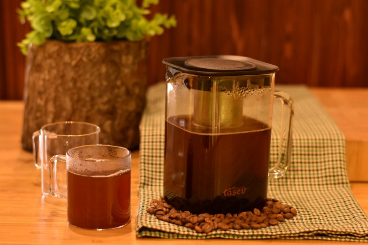 Ganda Soğuk Kahve Demleme Sürahi 1000 ml Bambum