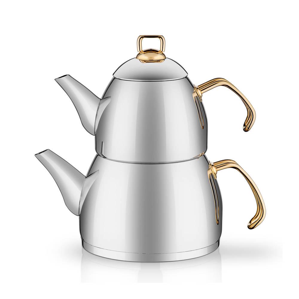 Bernardo Gold Saplı Çaydanlık