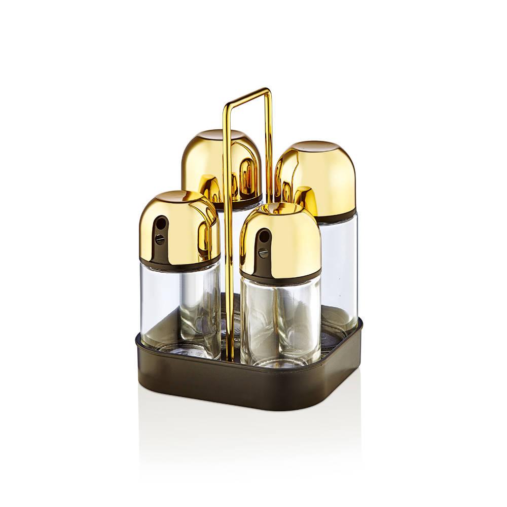 Bernardo Gold Yağlık- Tuzluk Set
