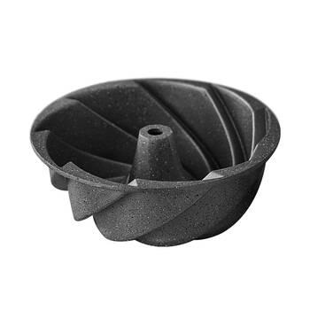 Granit Gri Kek Kalıbı - 24 cm KHR - Thumbnail