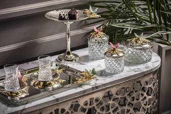 - Gümüş Orkide 2'Li Çay Seti (1)
