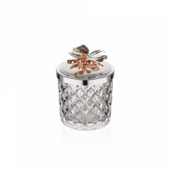 - Gümüş Orkide Kase 10 cm