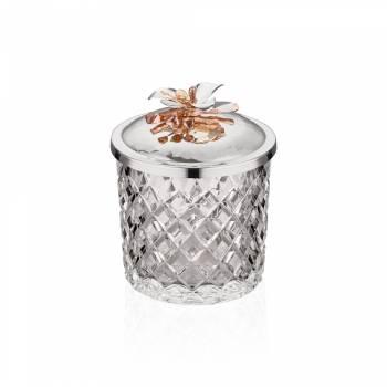 - Gümüş Orkide Kase 12 cm
