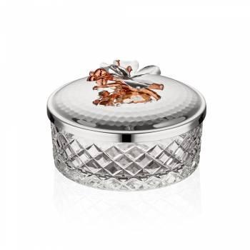 - Gümüş Orkide Kase 19 cm