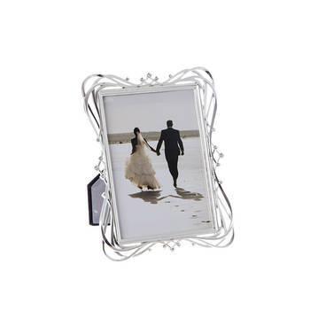 Biev - Gümüş Rengi Çerçeve 13X18Cm